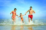 a Rimini marina centro con tutta la famiglia