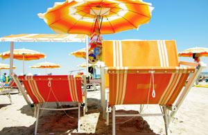 Hotel rivabella di rimini, la spiaggia ottima per la vacanza di tutta la famiglia