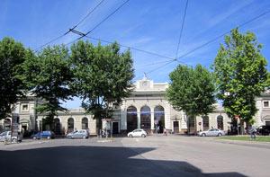 Spostarsi in treno a Rimini, Stazione ferroviaria